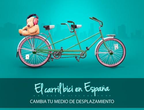 El carril bici en España