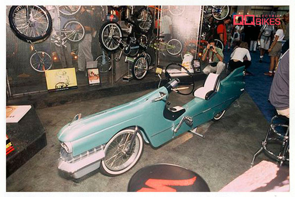 Cadillac Bike by Robert Egger