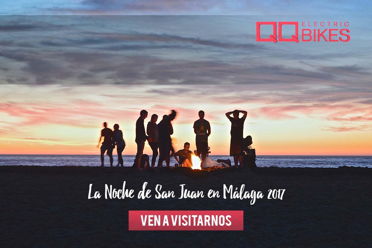 Cómo se celebra la Noche de San Juan en Málaga