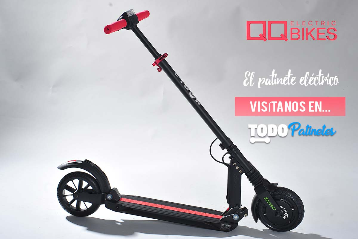 QQ Bikes and their electric scooters with all scooters