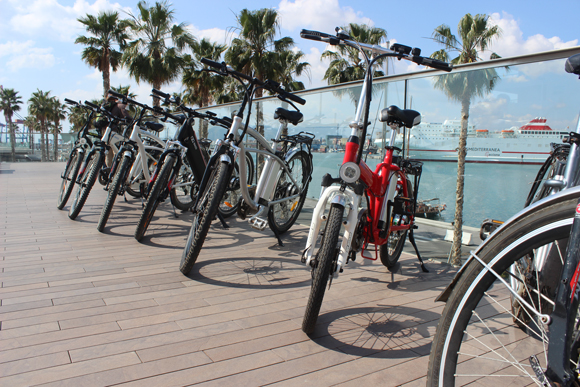 Electric bikes from our fleet · QQ Bikes