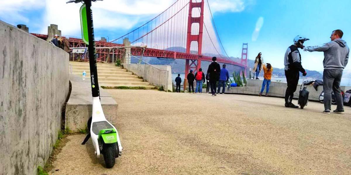 El origen del boom del Patinete eléctrico en San Francisco