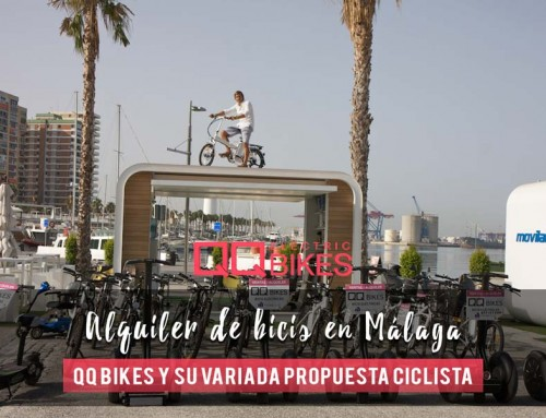 Bicycle rental in Malaga