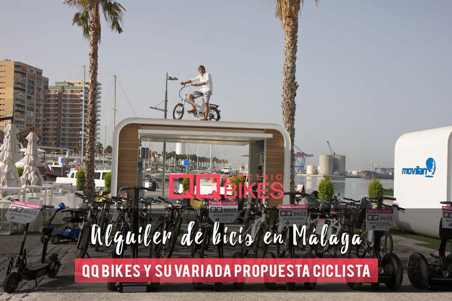 Sistema de alquiler de bicicletas con QQ Bikes. Booking system on QQ Bikes