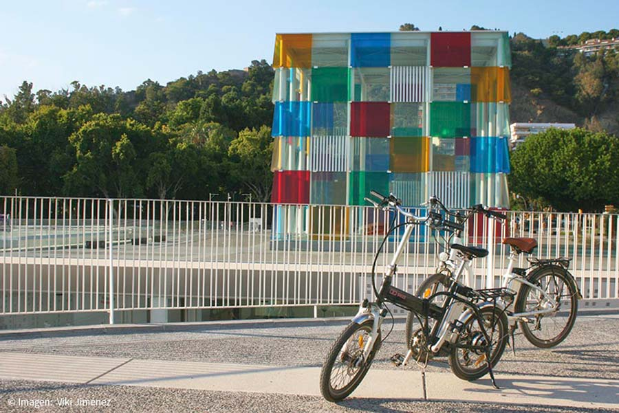 Leisure offer in Malaga with the bike rental
