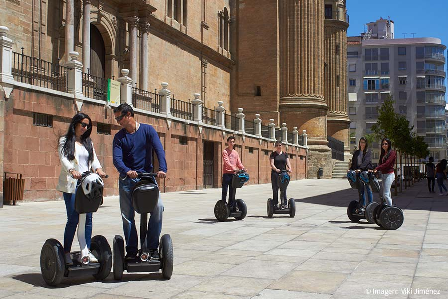 Leisure offer in Malaga with the Segway tours