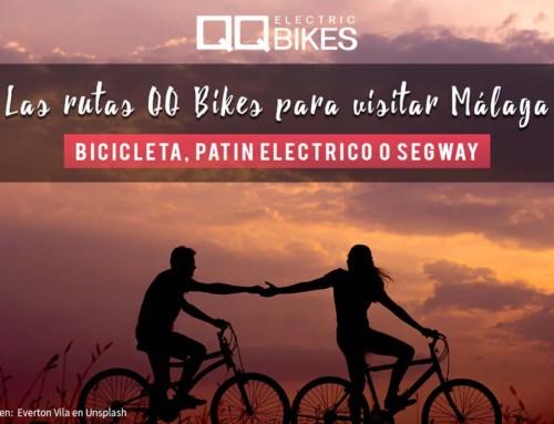 Las rutas de QQ Bikes para visitar Málaga