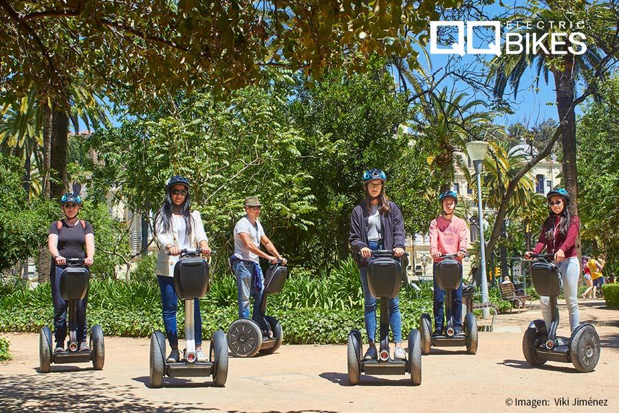 Las rutas de QQ Bikes en Segway para visitar Málaga