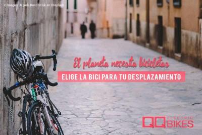 Usar la bicicleta es beneficioso
