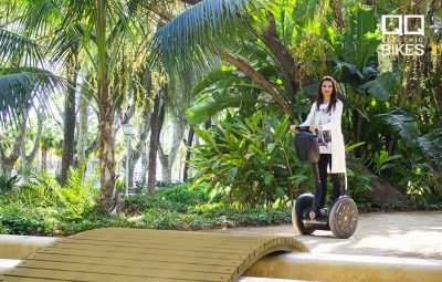 Rent a Segway to get around Malaga